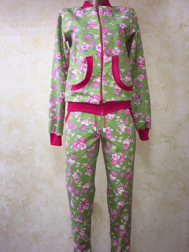 Купить женский теплый домашний костюм
